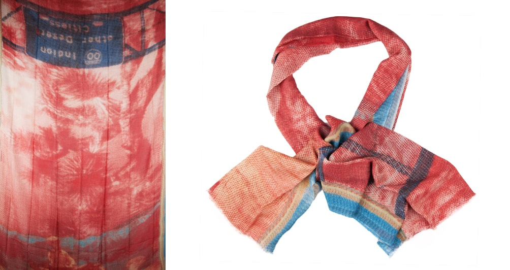 All year round scarves: 65% COTTON 35%MODAL DIGITAL PRINT ...